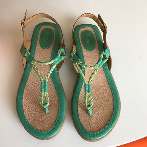 b.ø.c Sandals new condition no tags